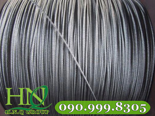 solid_1x12_304_stainless_steel_wire_rope_1mm_20mm_for_goods_shelf_with_astm_jis